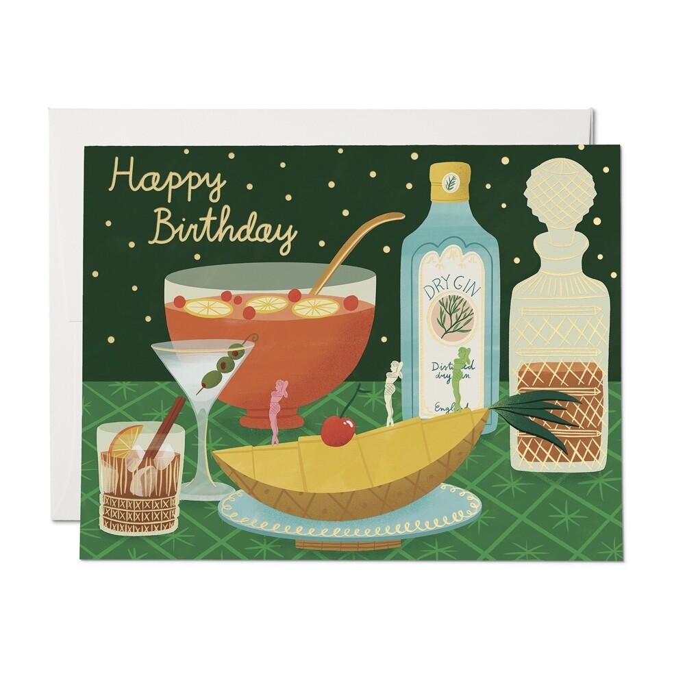 Boozy Birthday Card - RC37