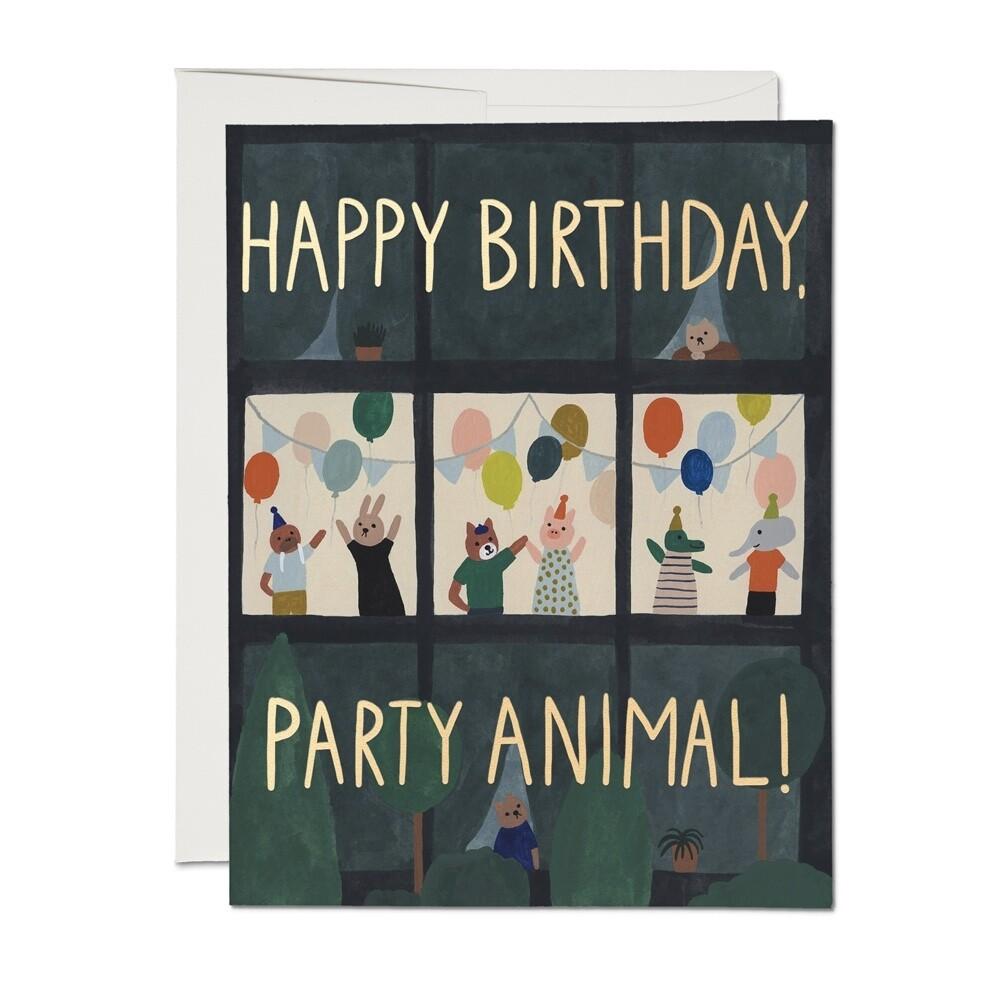 Animal House Birthday Card - RC45