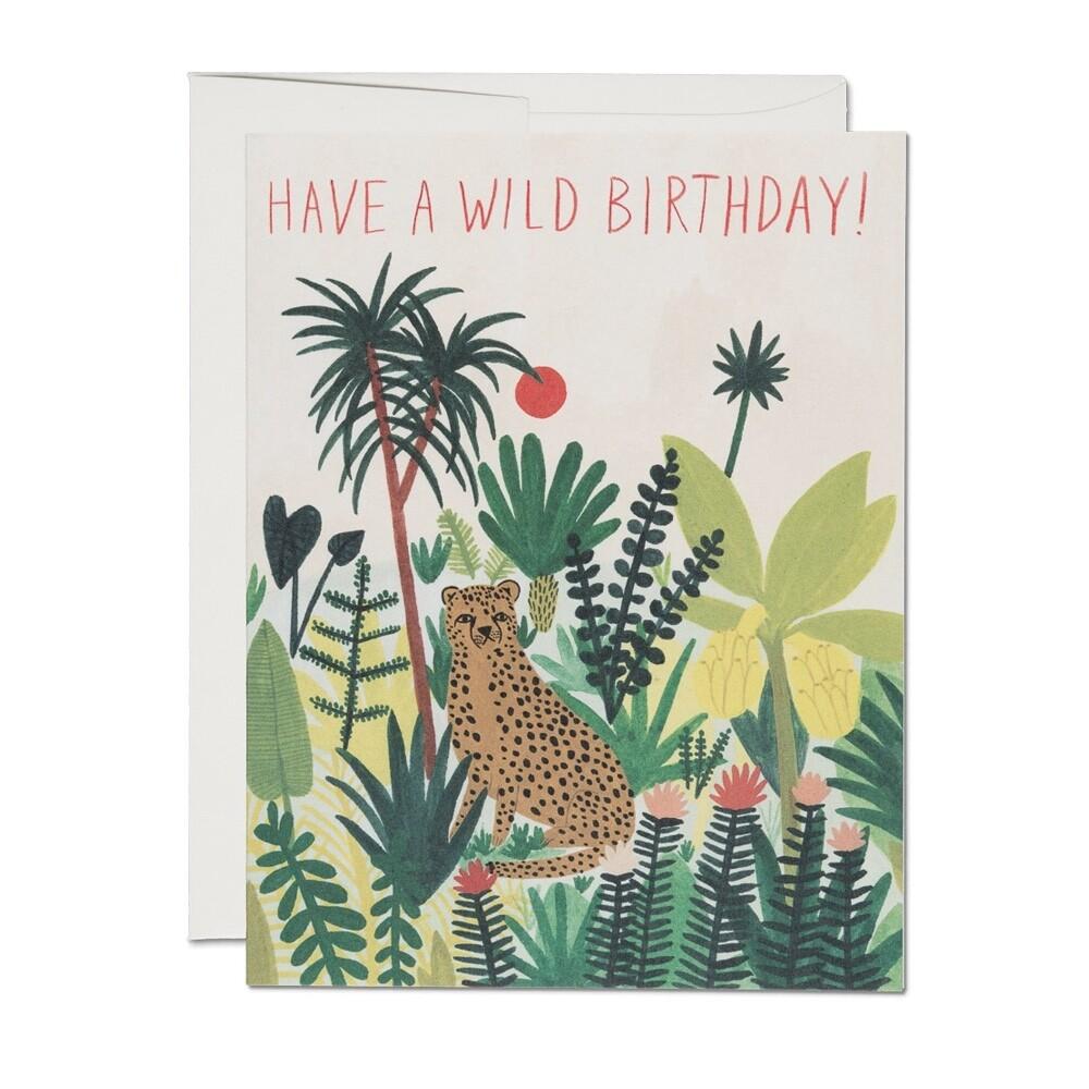 Cheetah Birthday Card - RC23