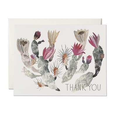 RC14 California Cactus Thank You Card