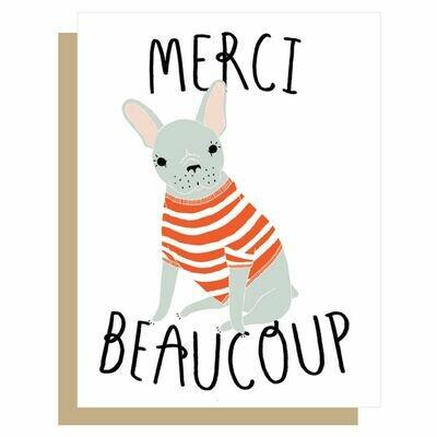 GG9 Merci Beaucoup Card
