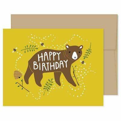 GG2 Birthday Bear Card