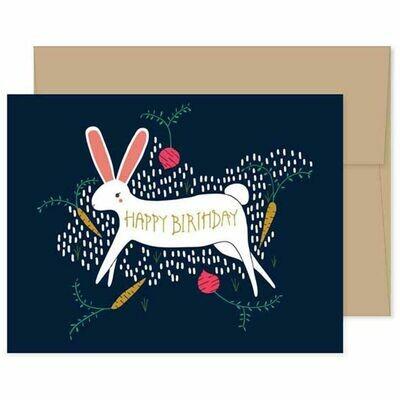 GG3 Birthday Bunny Card