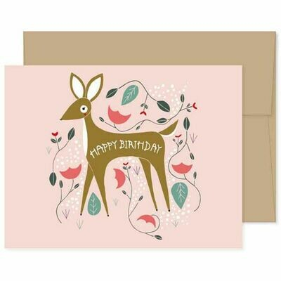 GG4 Birthday Deer Card