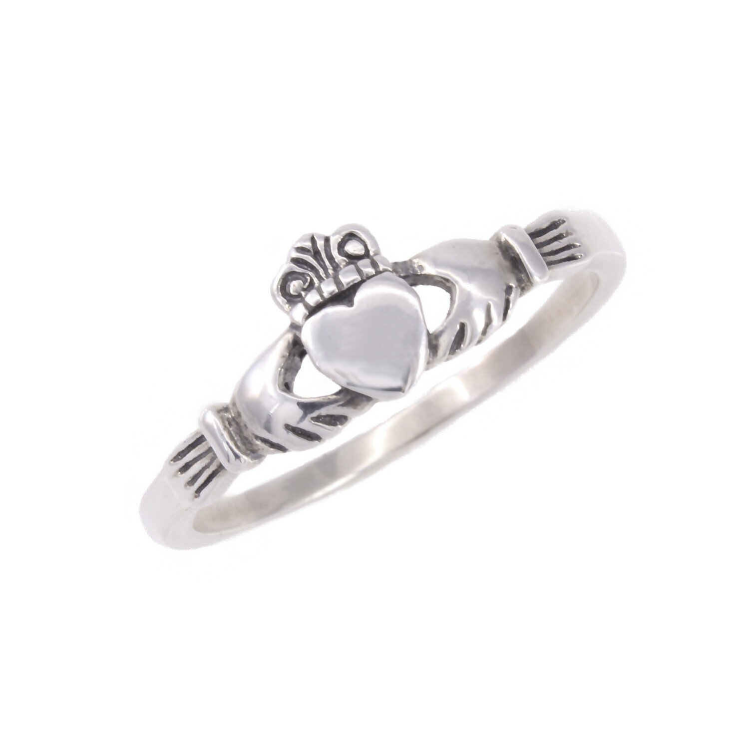 RP1694 Sterling Silver Claddagh Ring