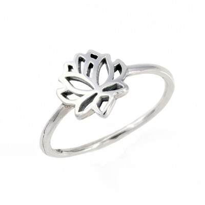 RP3543 Mini Open Lotus Ring