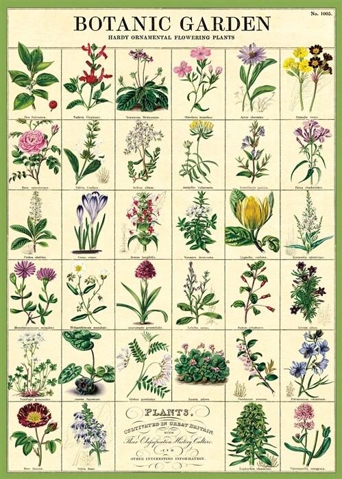 Botanic Garden Chart Poster #101