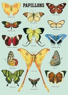 Blue Butterflies / Papillions Poster #314