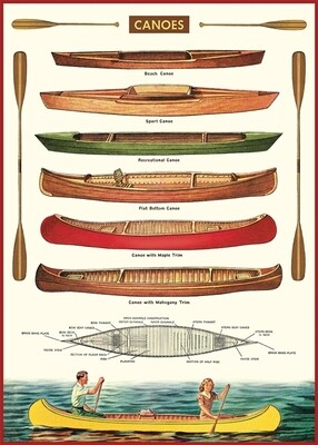 Canoes Poster #402
