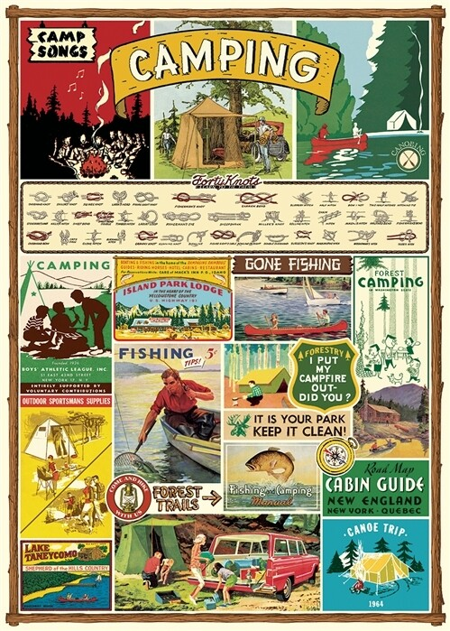 Camping Poster #400