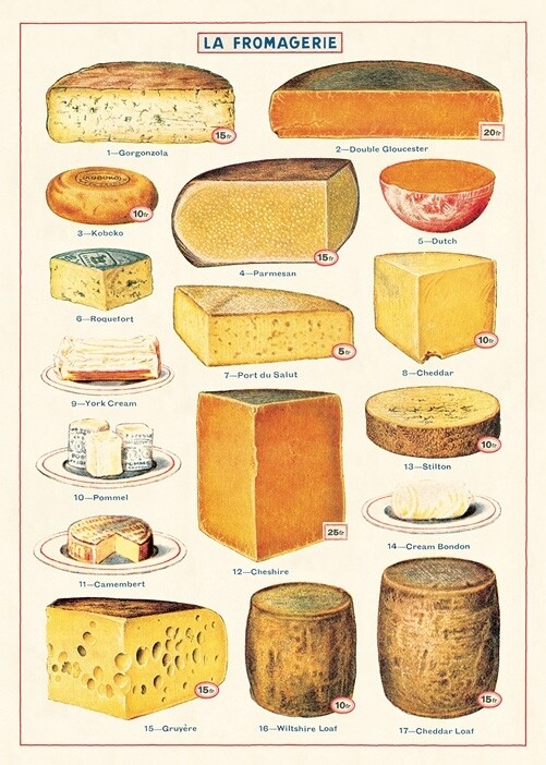 Cheese Poster #306