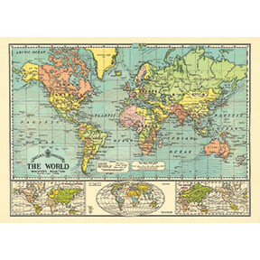 World Map Poster #406