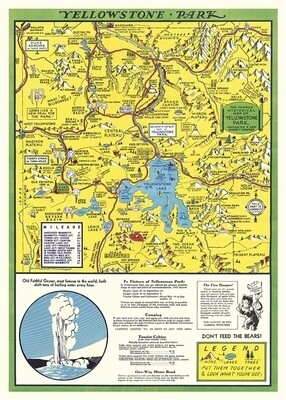Yellowstone Park Poster #416
