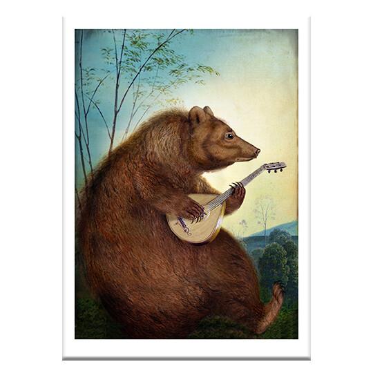 CD46 Mandolin Bear Card