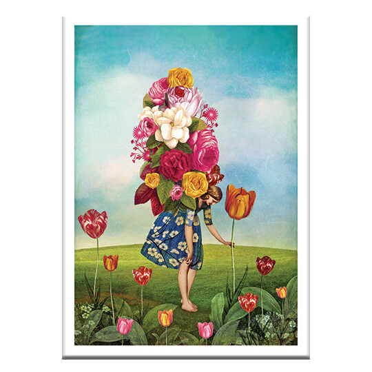 CD94 Ten of Wands Greeting Cards