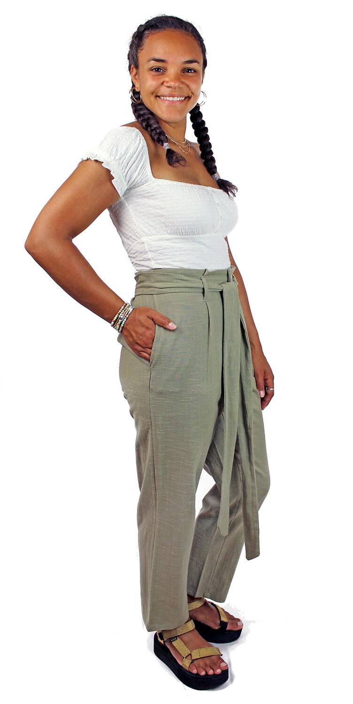 Billabong Sand Stand Tie-Waist Pants SAN-BYF