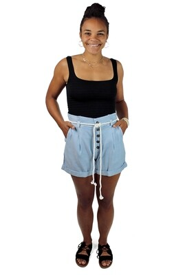 Billabong Explore More Tie Waist Shorts BEX-CHY