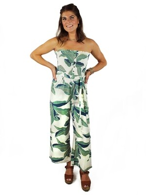 Billabong Leaf Print Jumpsuit - BFO-CWP