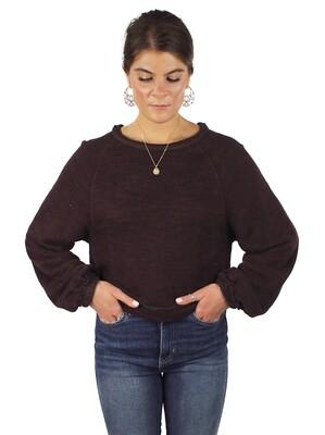 Free People Jade Pullover Sweater - Brown