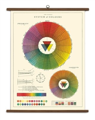 Color Wheel Large School Chart