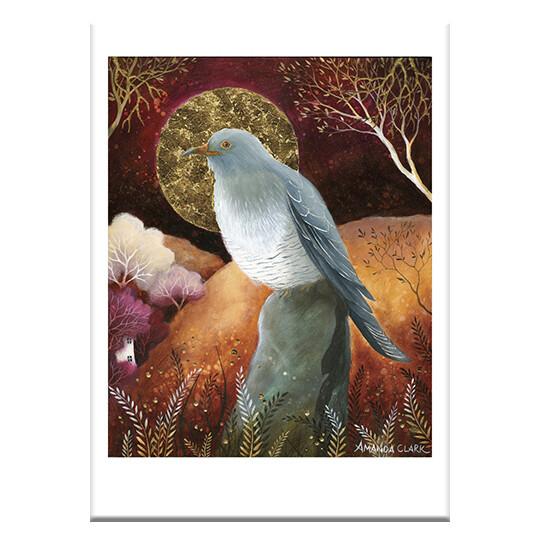 FF96 Bird Greeting Card