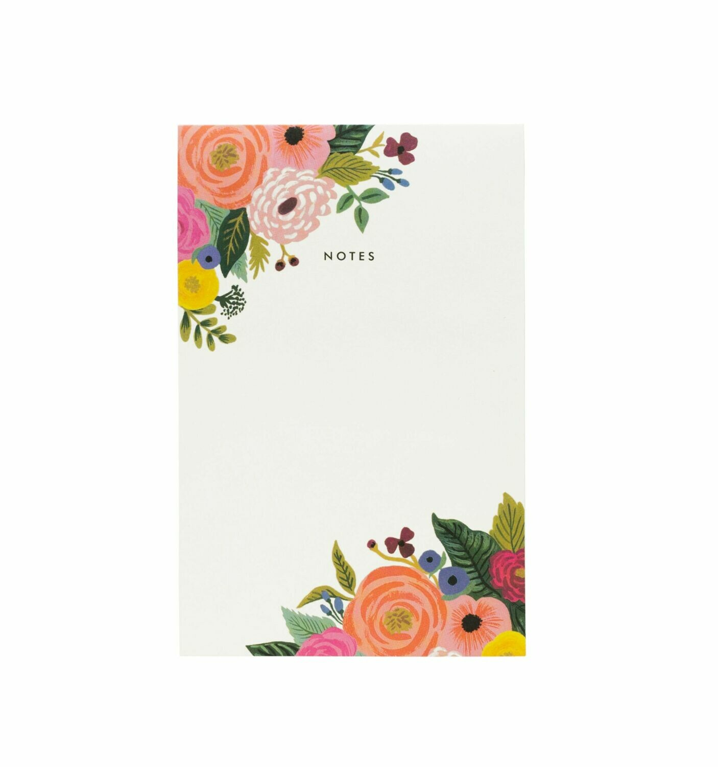 Juliet Rose Notepad - Rifle Paper Co. RPC13