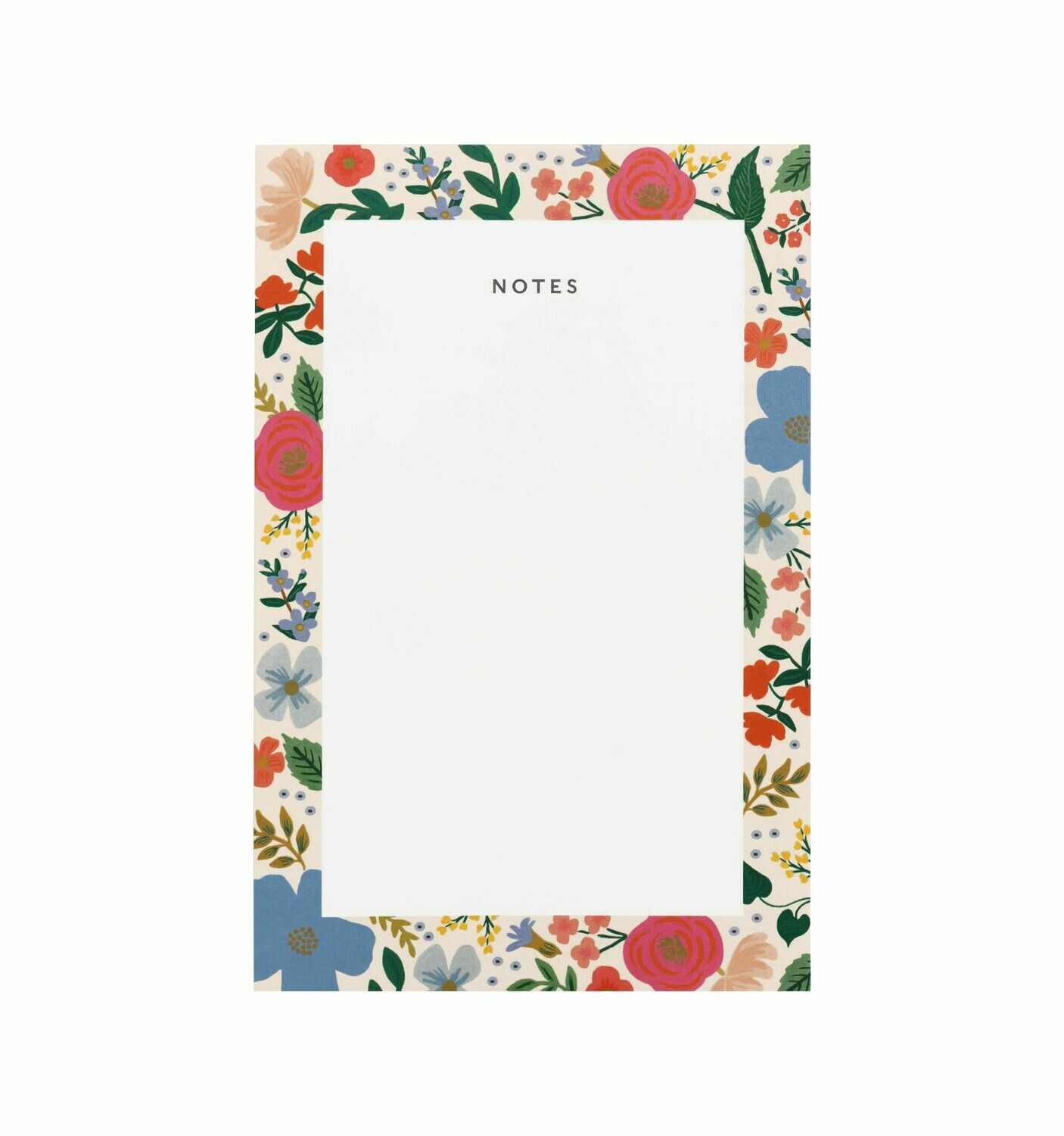 Wild Rose Notepad - Rifle Paper Co. RPC15
