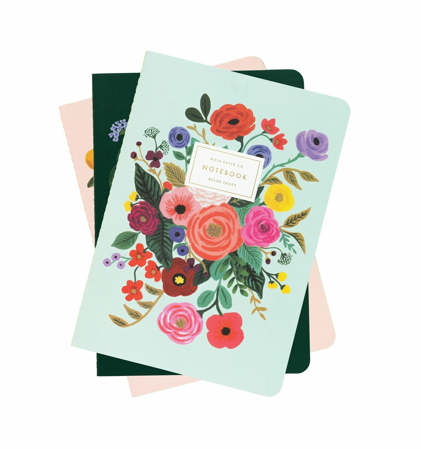 Garden Party Notebooks - Set of 3 - Rifle Paper Co. RPC17