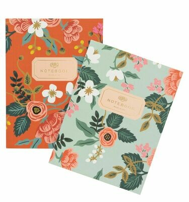 Birch Floral Notebooks - Set of 2 - Rifle Paper Co. RPC19