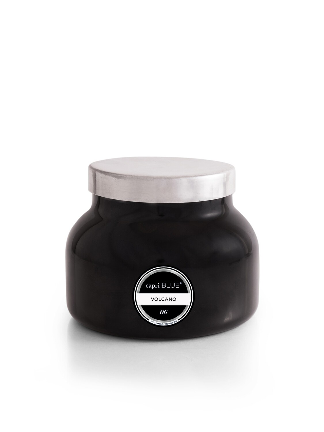 Volcano Candle -Black- Capri Blue Signature Jar 19oz