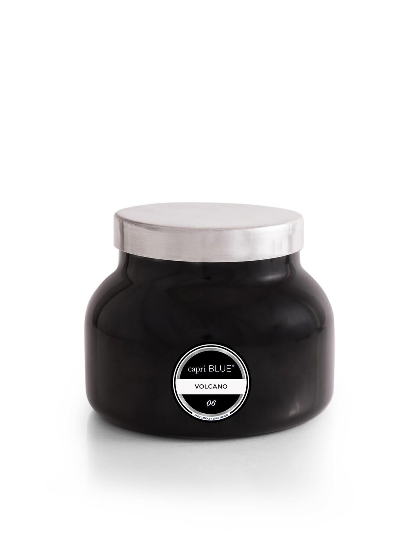 Volcano Candle -BLACK- Capri Blue Signature Jar 19oz