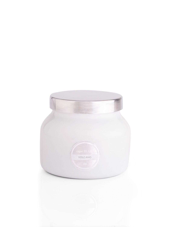 Volcano Candle -White- Capri Blue Petite Jar 8oz