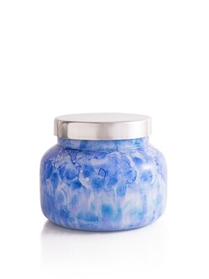 Blue Jean Candle - Capri Blue Watercolor Jar 19oz
