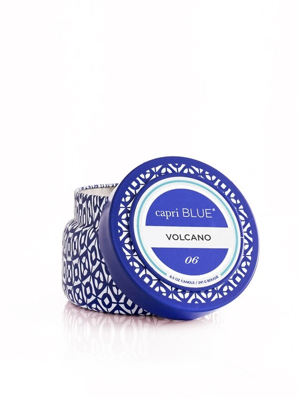 Volcano Candle - Capri Blue Printed Tin 8.5oz