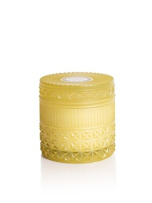 Aloha Orchid Candle - Capri Blue Muse Faceted Jar