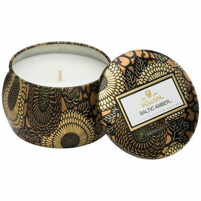 Baltic Amber Candle - Voluspa Petite Tin Candle