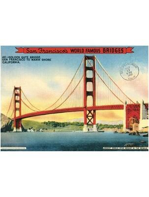 Golden Gate Bridge Poster #418