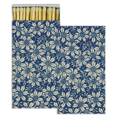 Blue Daisies Matches