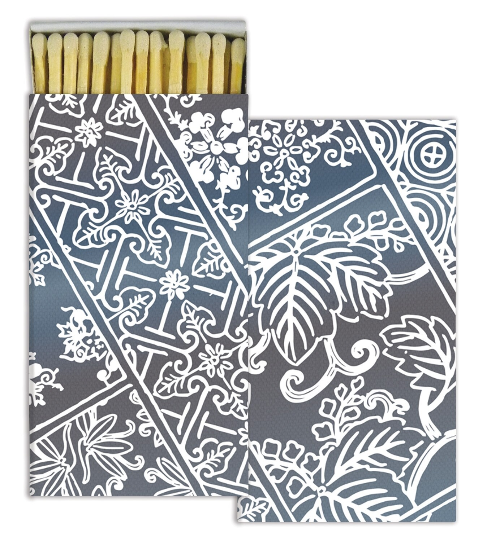 Indigo Print Matches