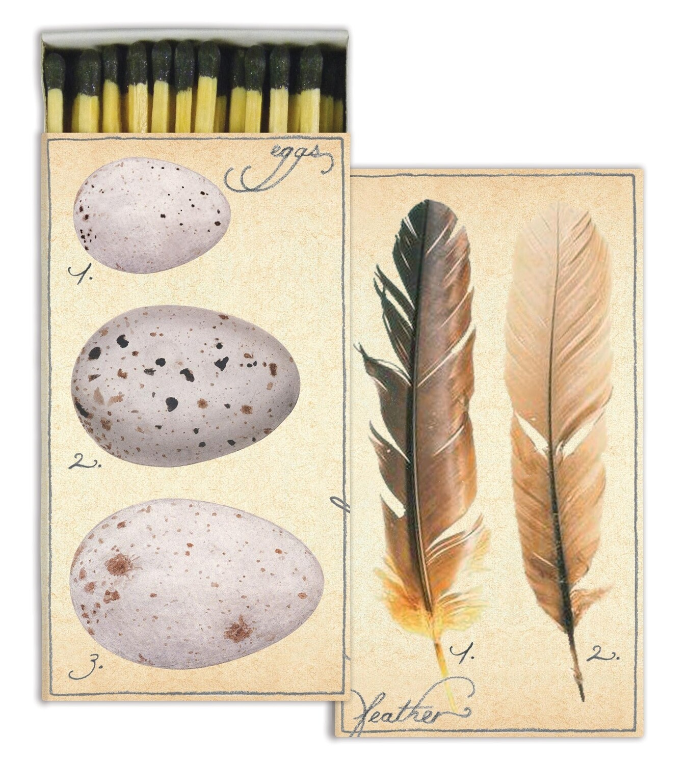 Feathers + Eggs Matches