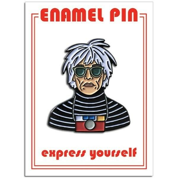 Andy Warhol Enamel Pin - FFP-214