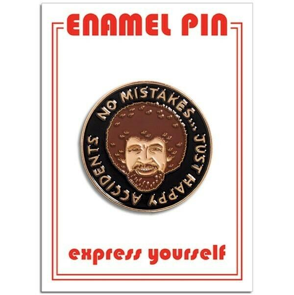 Bob Ross Enamel Pin - FFP-132
