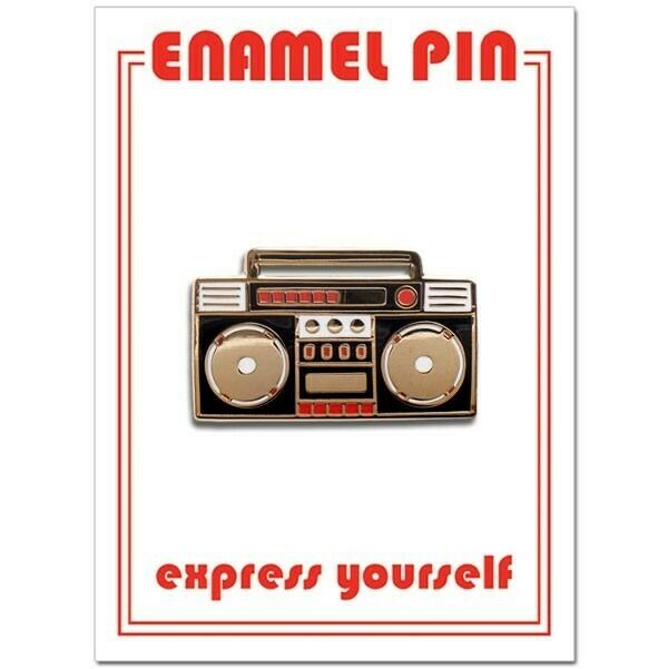 Boom Box Enamel Pin - FFP-57
