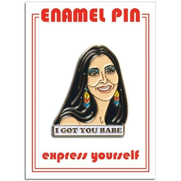 Cher Enamel Pin - FFP-190
