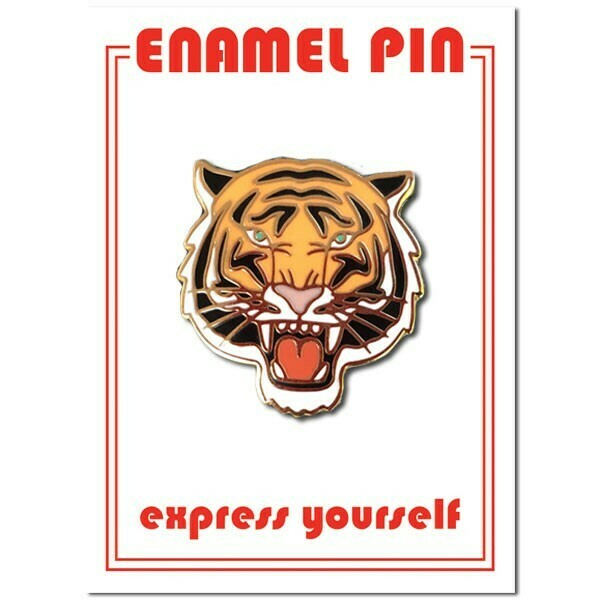 Tiger Enamel Pin - FFP-25