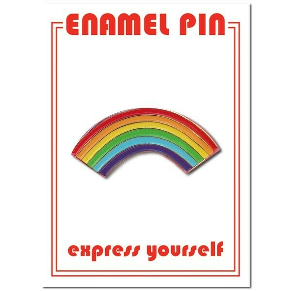 Rainbow Enamel Pin - FFP-6
