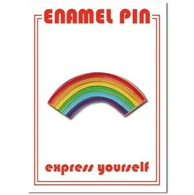 Rainbow Enamel Pin - FFP-6