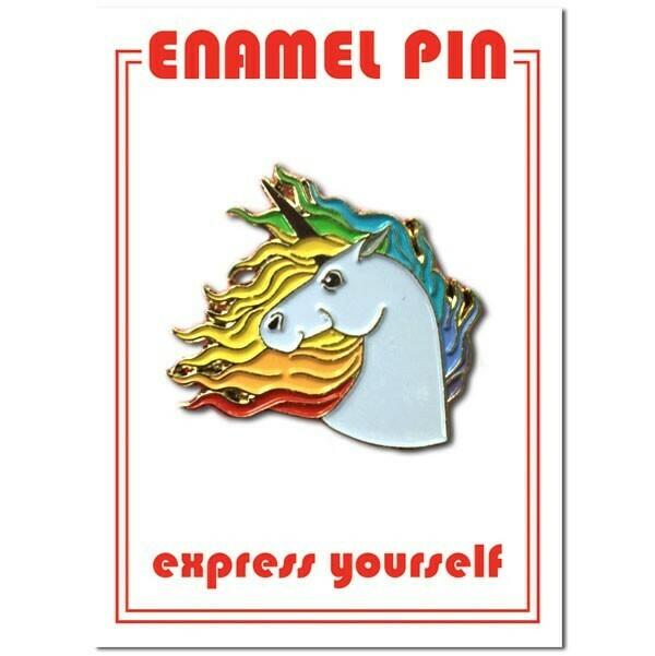 Unicorn Enamel Pin - FFP-3