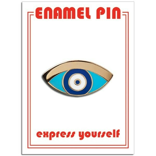 Protection Eye Enamel Pin - FFP-194