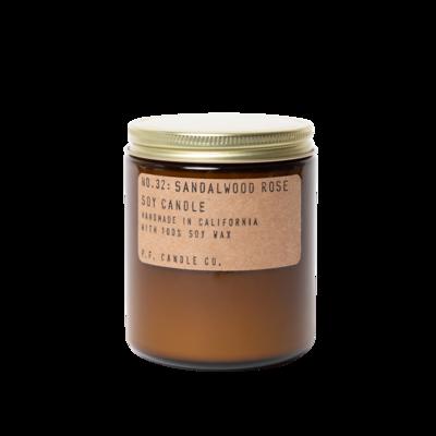 Sandalwood Rose 7.2 oz Soy Candle - P.F. Candle Co.